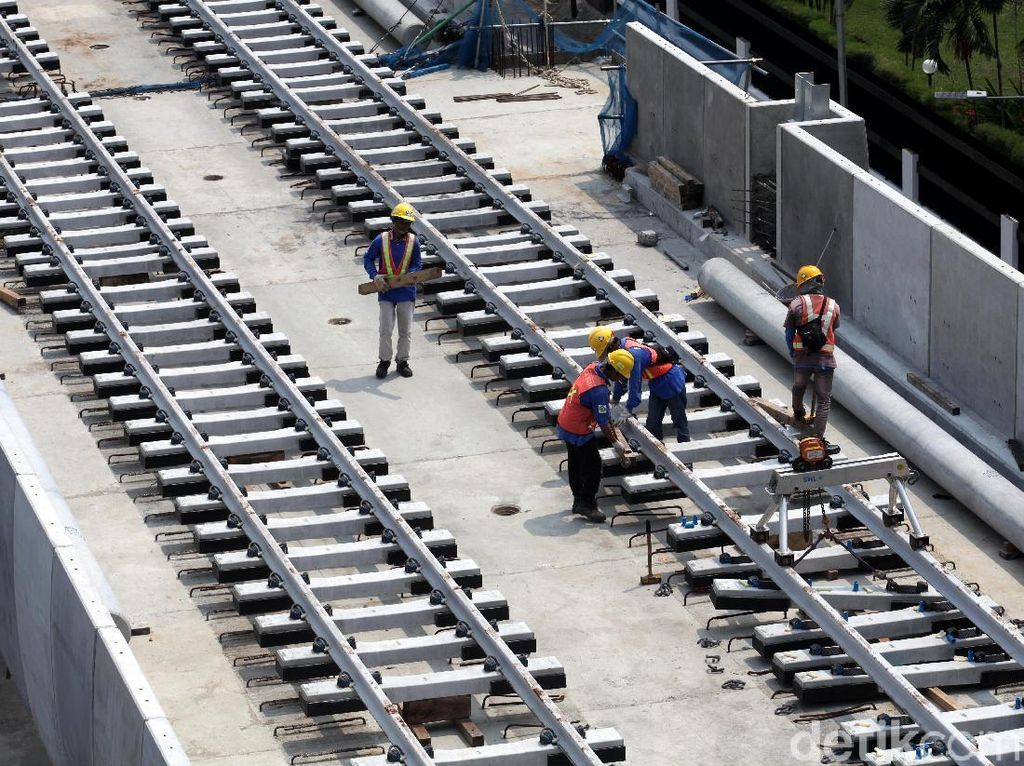 MRT Jakarta Mulai Diuji Coba Desember 2018