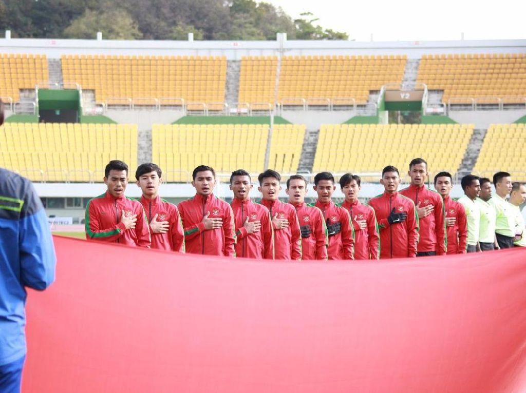 Timnas U-19 Sementara Unggul 2-0 atas Brunei