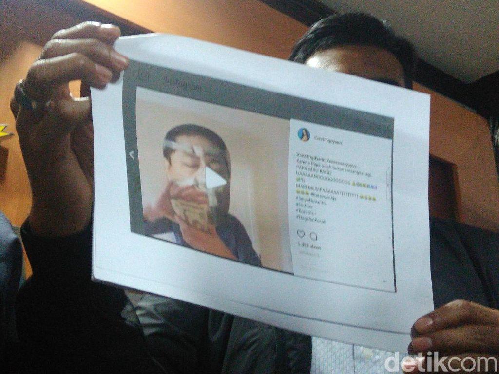 Setya Novanto Laporkan Penyebar Meme Fotonya Ketika Sakit di RS