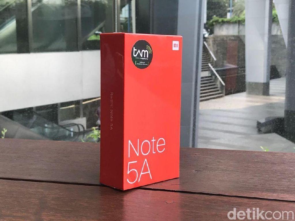 Unboxing Xiaomi Redmi Note 5A