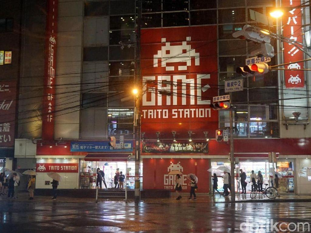 Foto: Tempat Nongkrongnya Otaku di Osaka