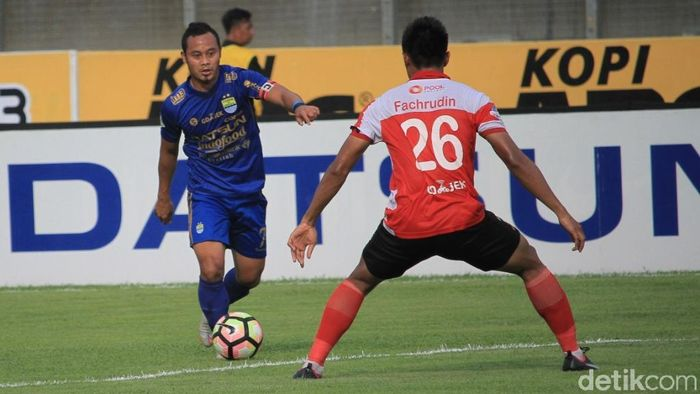 Persib Bandung siap melepas Atep (Foto: Wisma Putra)