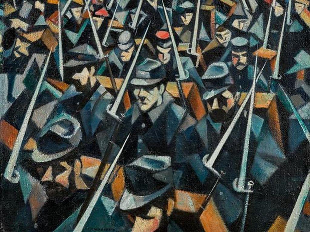 Lukisan Perang Dunia Pertama di Dunia Ditaksir Terjual Rp 17,8 M