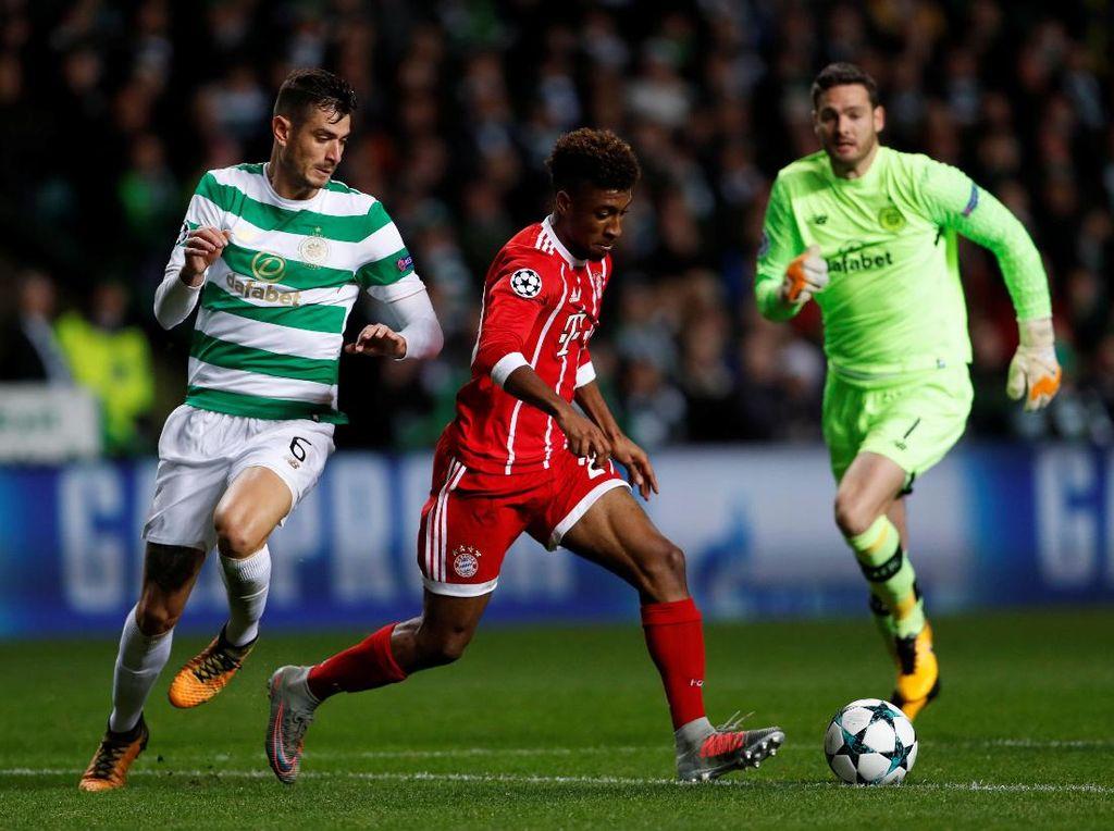 Tundukkan Celtic, Bayern Melangkah ke 16 Besar