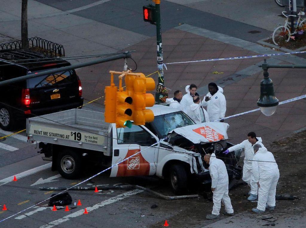 Simpatisan ISIS Rayakan Serangan Truk di New York