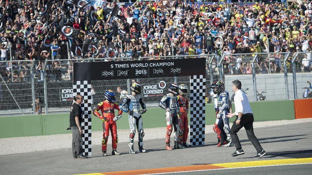 Marquez vs Dovi dan Balapan Penentu di Valencia pada Masa Lalu