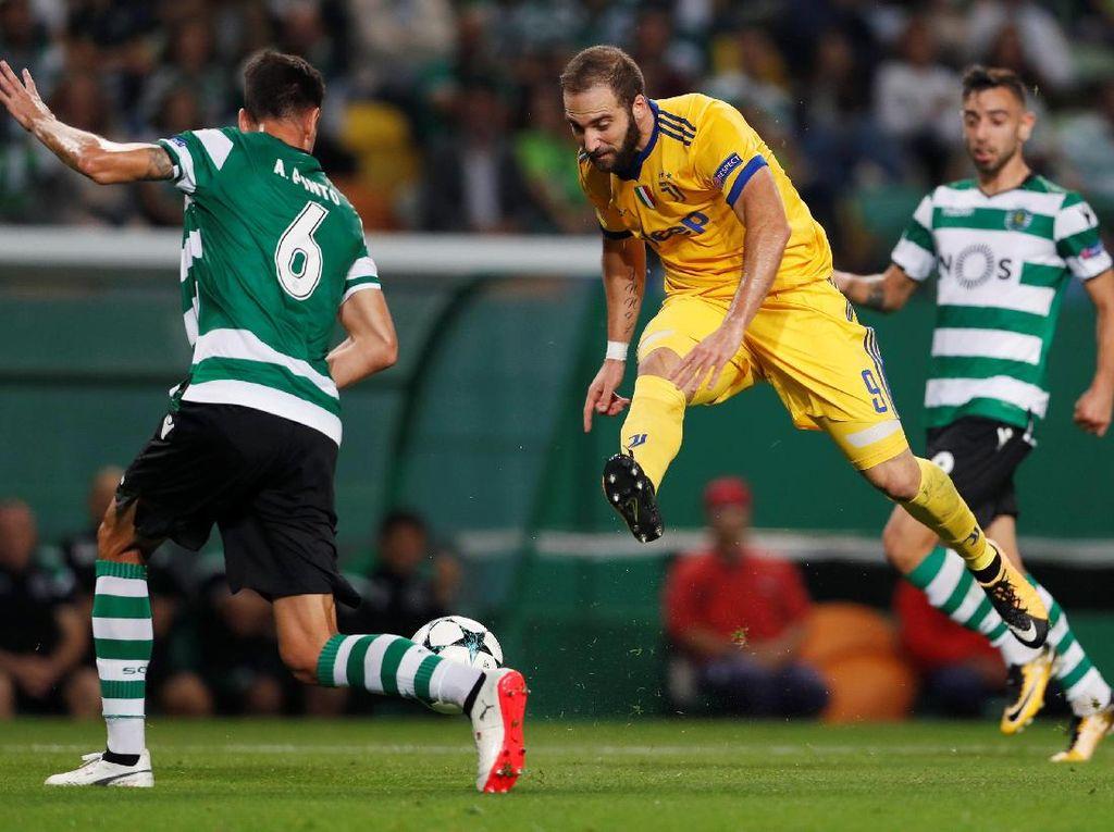 Higuain Selamatkan Juventus dari Kekalahan