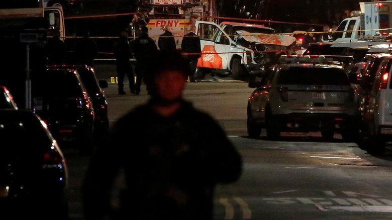 Wali Kota New York Sebut Serangan Truk Aksi Teror Pengecut