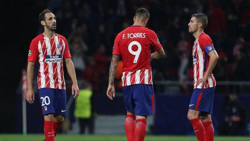 Menjamu Roma, Atletico Berharap Dinaungi Keberuntungan