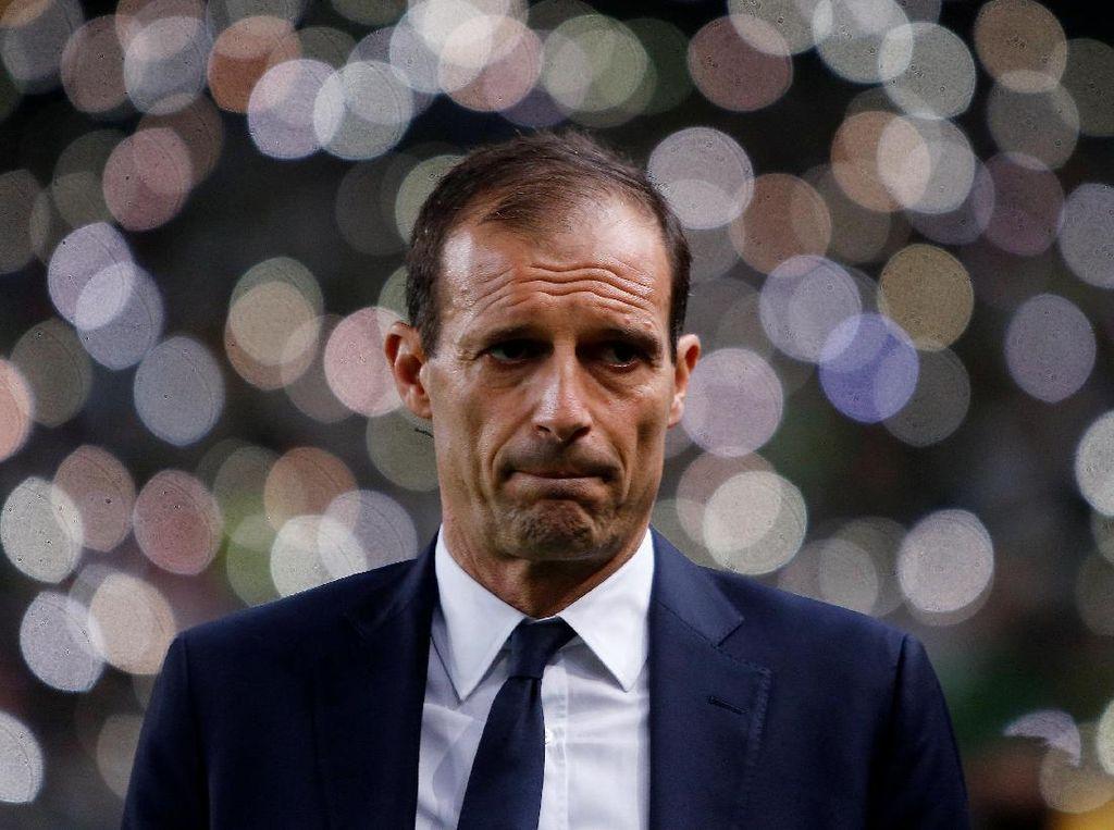 Juventus Bikin Allegri Kecewa