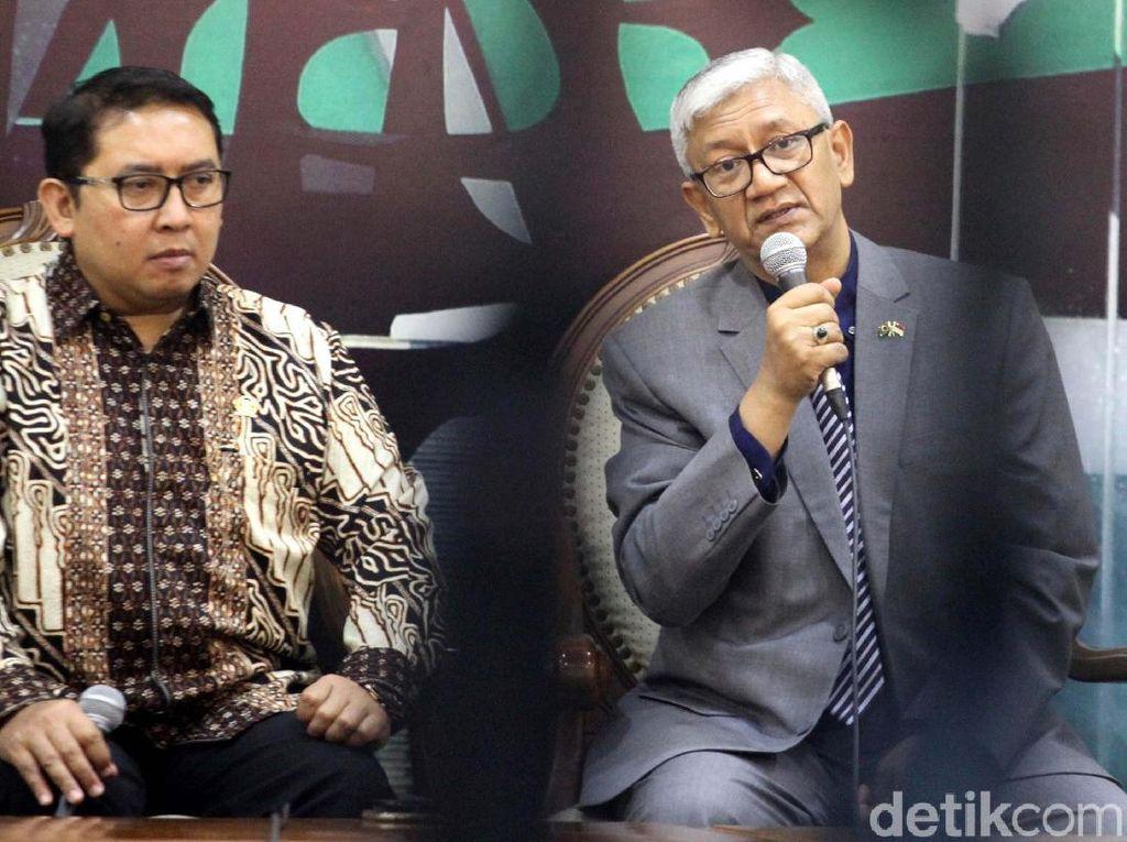Fadli Zon dan Dubes Bangladesh Bahas Pengungsi Rohingya