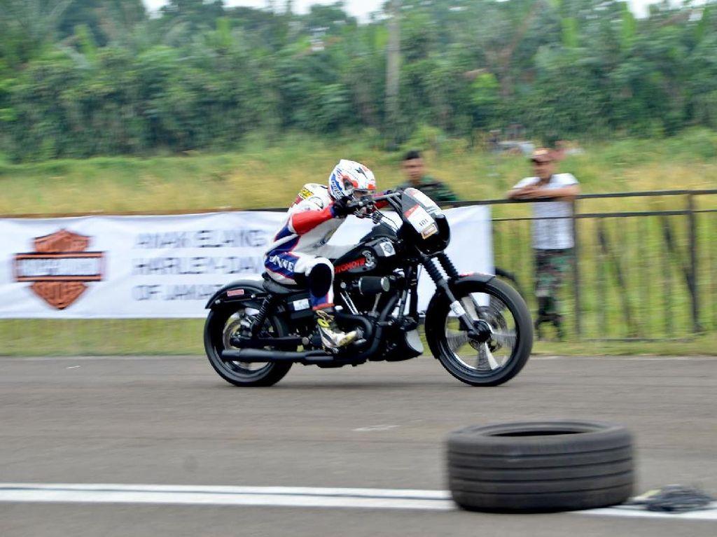 Moge Harley Bakal Digeber untuk Adu Cepat Drag Race