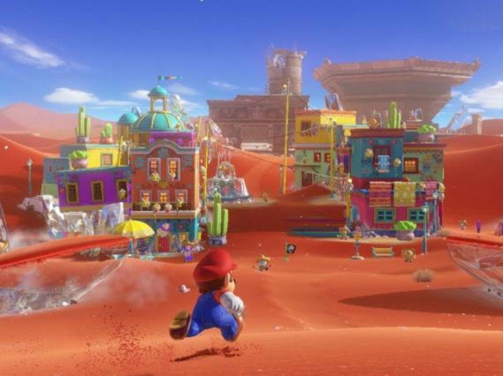 Super Mario Odyssey Laris, Nintendo Tersenyum Manis