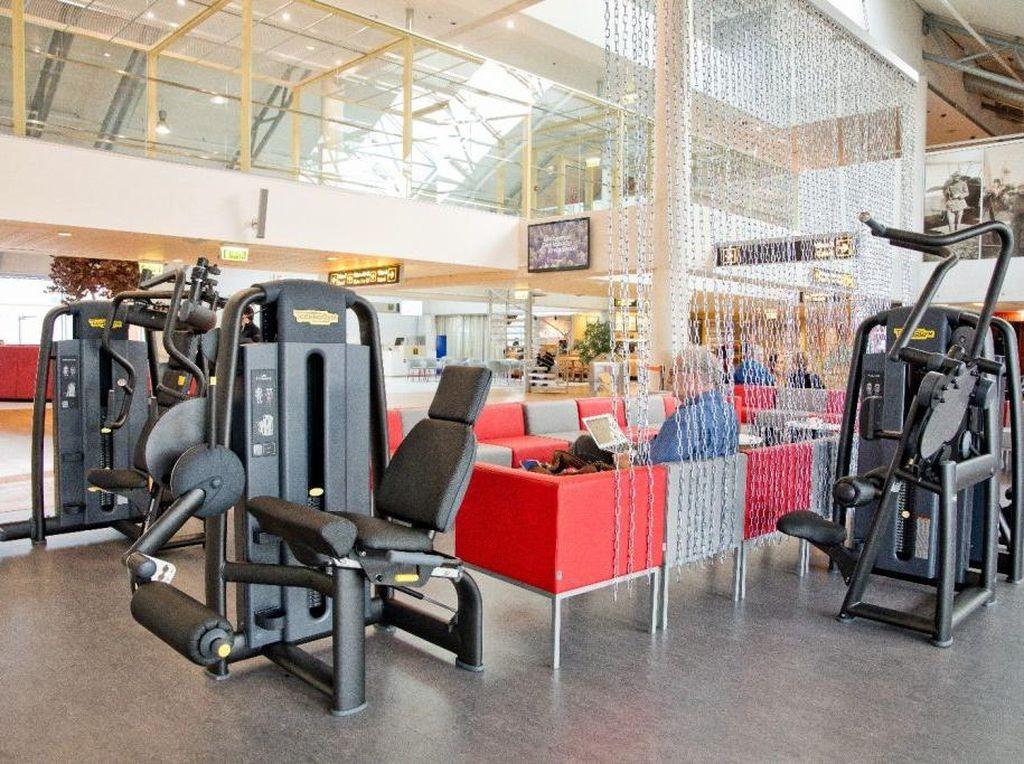 Inikah Bandara Pertama di Eropa yang Punya Pusat Kebugaran?