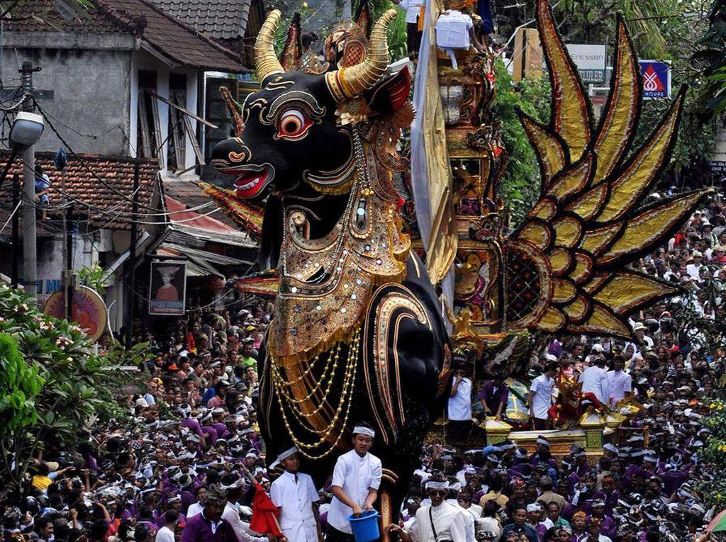 Ngaben, Upacara Kematian Asli Indonesia yang Makin Langka di Bali