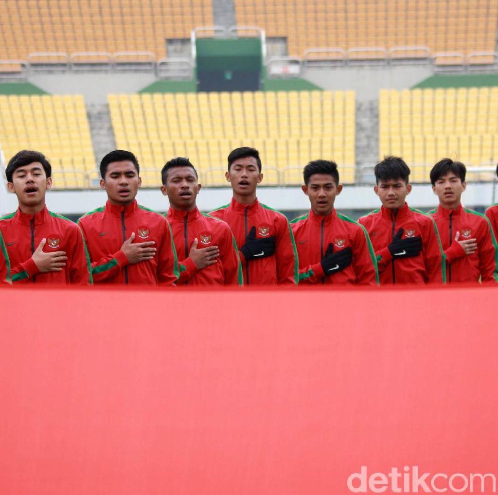 Timnas U-19 Jajal Timnas Jepang