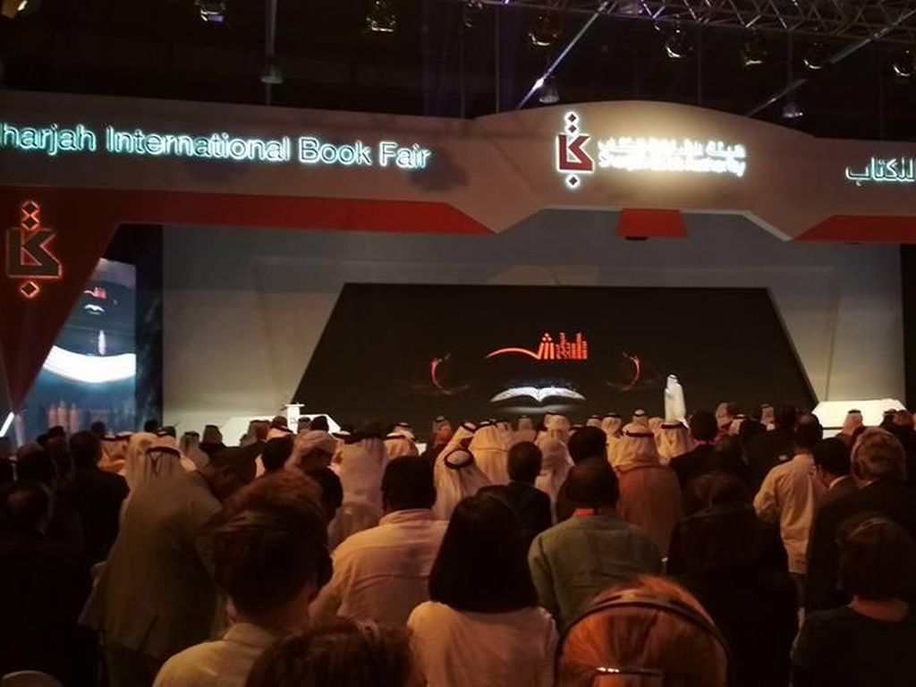37 Judul Buku Indonesia Terjual di Sharjah Book Fair 2017