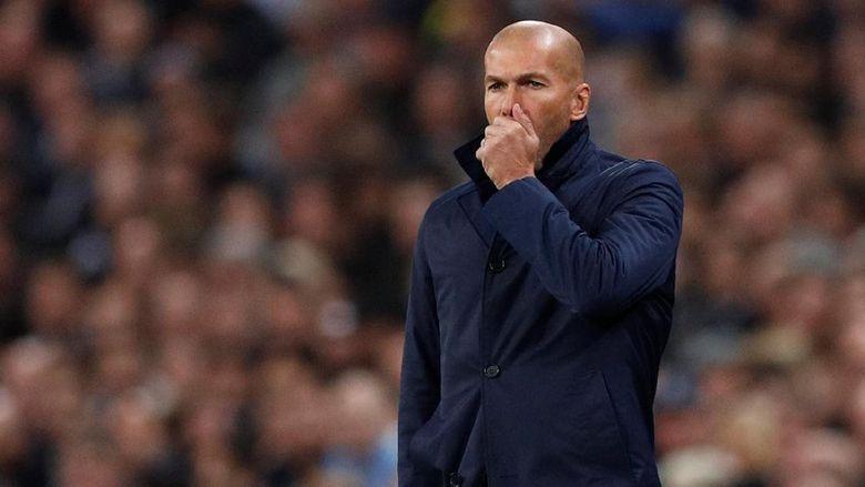 Zidane: Madrid Tidak Sedang Krisis