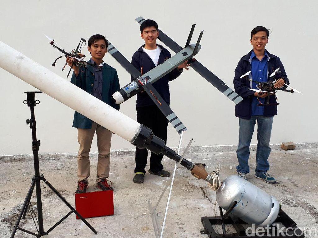 Ini Dia Pesawat Lipat Rancangan Mahasiswa ITB