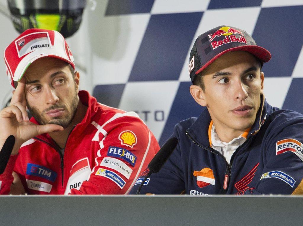 Lorenzo: Dovi Cerdas, Marquez Punya Tekanan Lebih Besar