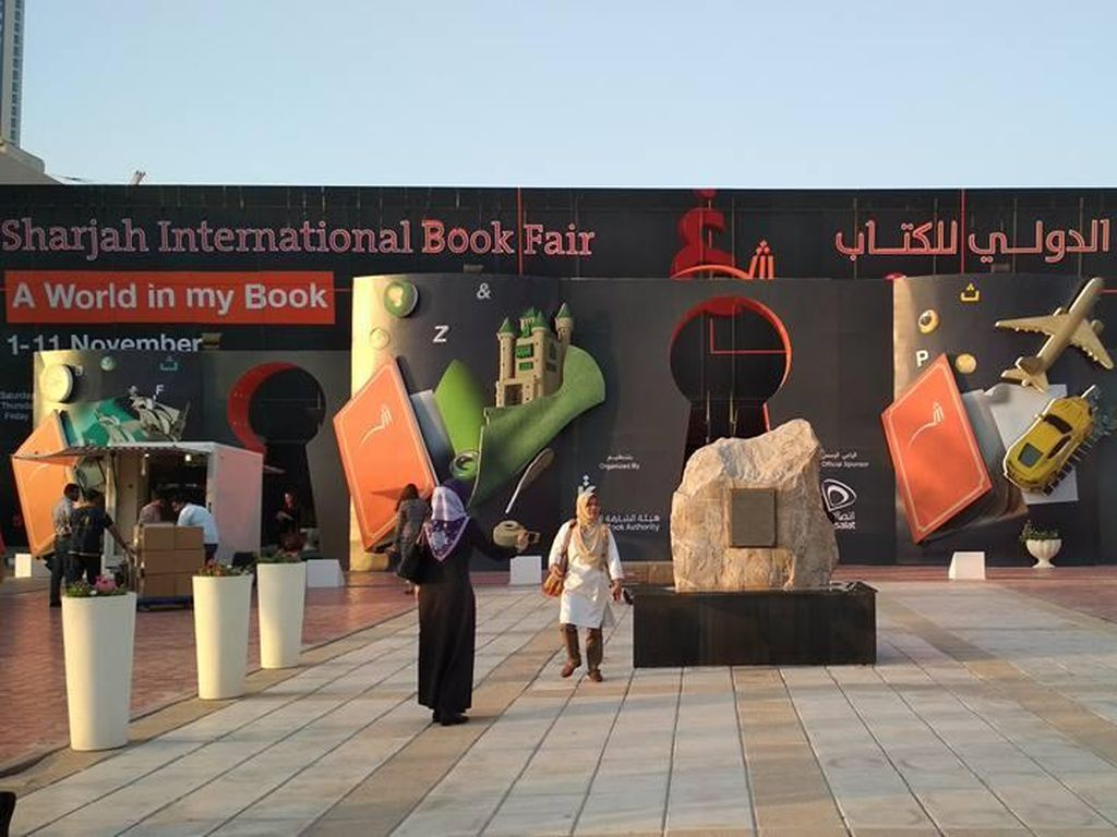Indonesia Kembali Hadir di Sharjah International Book Fair 2018