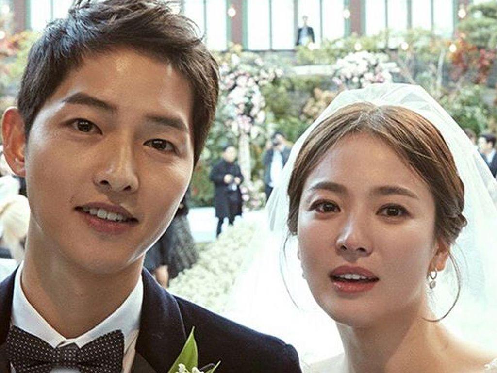 Kata-kata Romantis Song Joong Ki untuk Song Hye Kyo Sebelum Gugat Cerai