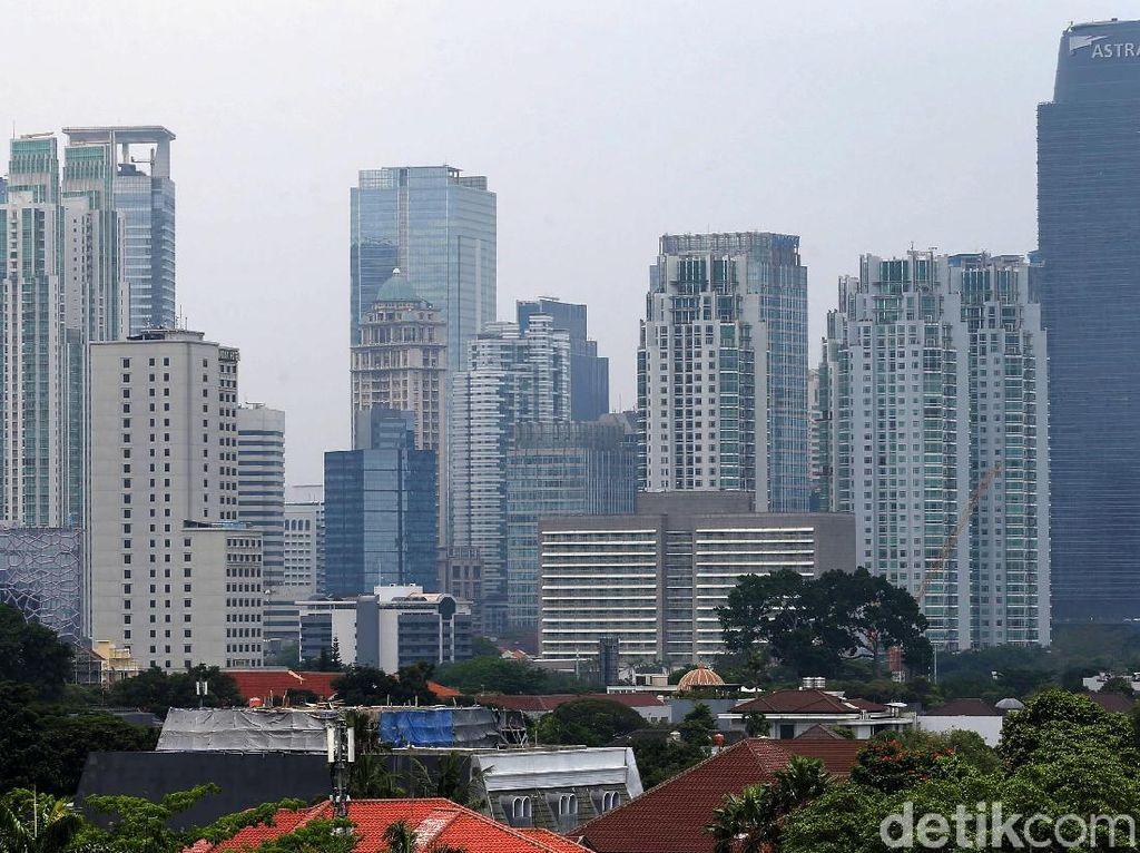 Gedung Bertingkat di Jakarta Tumbuh Pesat