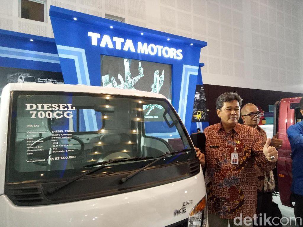 Kadisperindag Sarankan Para IKM Gunakan Ace EX2 Tata Motors