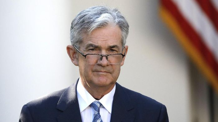 Gubernur The Fed Jerome Powell/Foto: Reuters