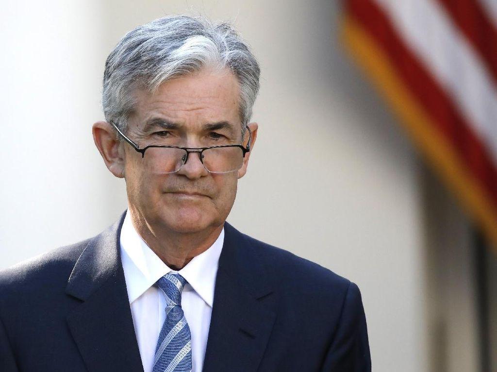 Komentar Bos The Fed Bikin Wall Street Melesat