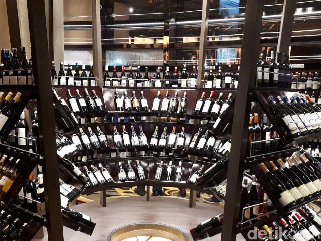 Ribuan Wine Terbaik Mancanegara Bisa Anda Cicip di The Cellar