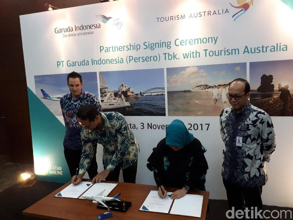 Langkah Garuda Indonesia Gaet Wisatawan Australia