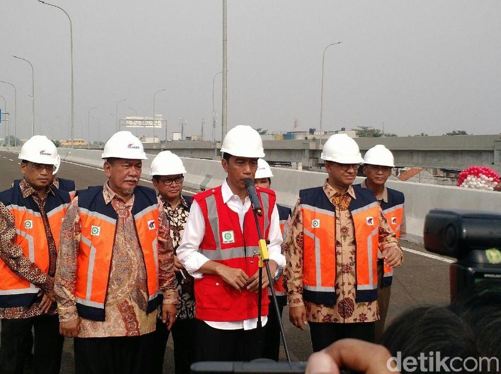 Jokowi: Dulu Pada Enggak Percaya Tol Becakayu Bisa Rampung