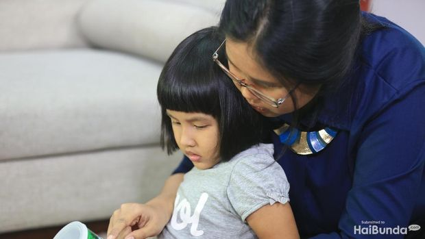Ilustrasi body image pada anak