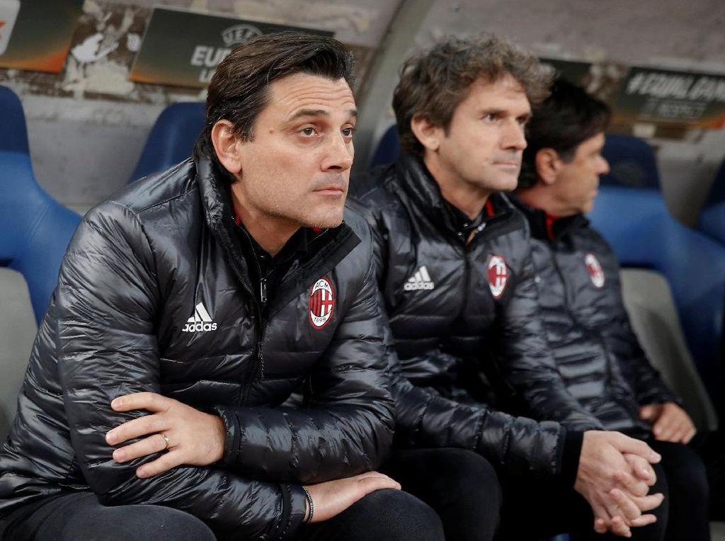 Milan Imbang Lagi Lawan AEK, Ini Kata Montella