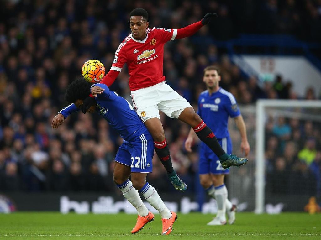 Chelsea Vs Man United: Setajam Apa Anthony Martial Lawan The Blues?