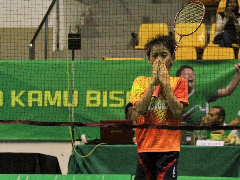Alfira Deanika Juara Sirnas-Milo Badminton Competition U-11