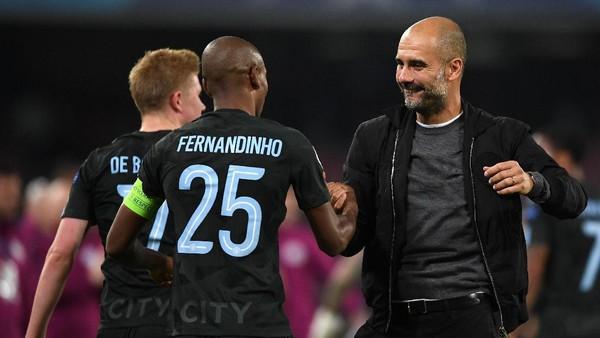 Guardiola: Saya Beruntung di Manchester City