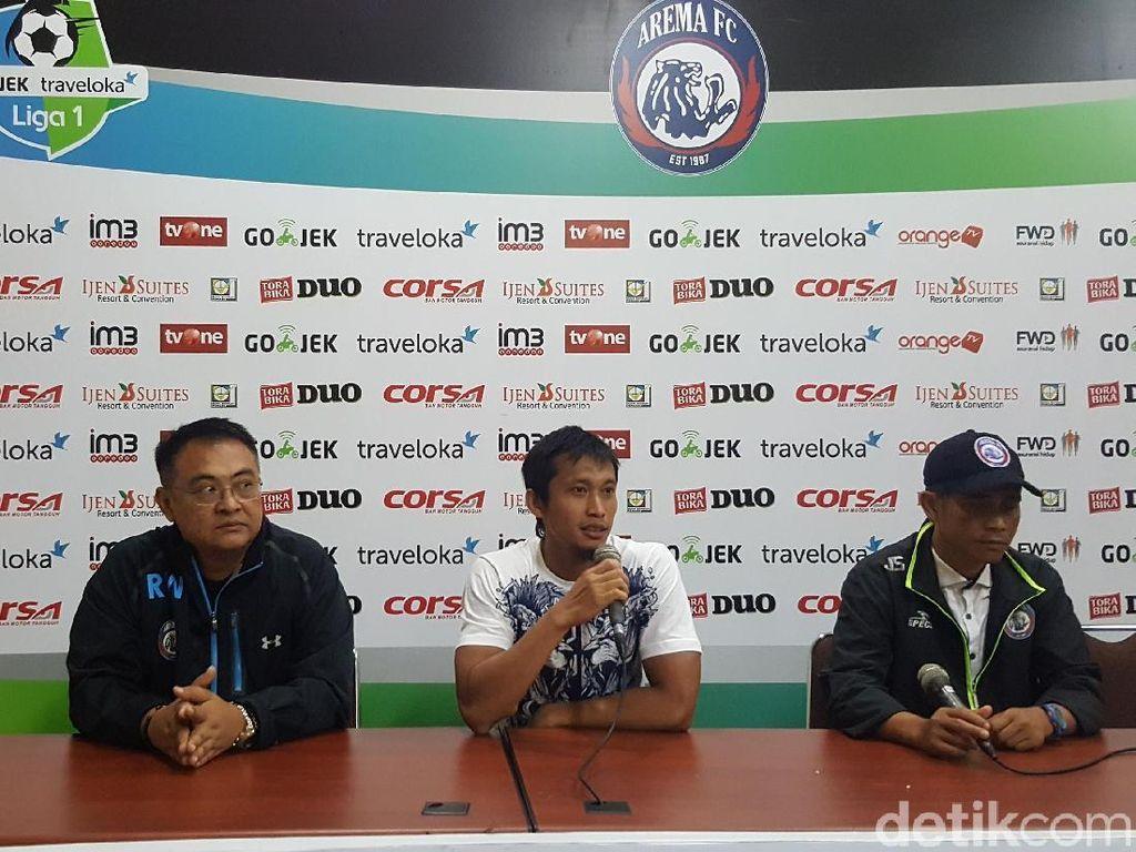 Kemenangan Besar Arema FC Tak Sepenuhnya Puaskan Pelatih
