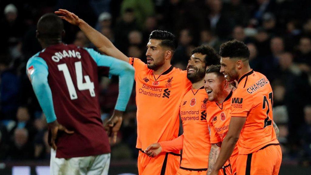 Liverpool Menang dengan Margin Tiga Gol Lagi