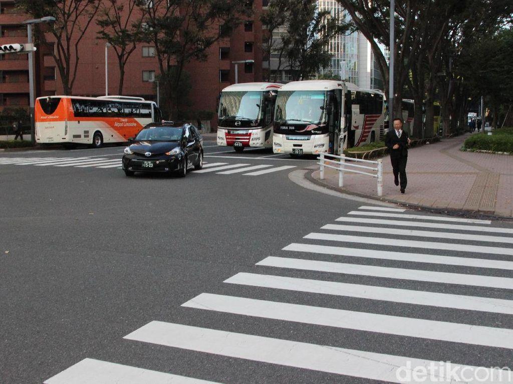 Di Indonesia Ada Operasi Zebra, di Jepang Tak Pernah Ada Razia