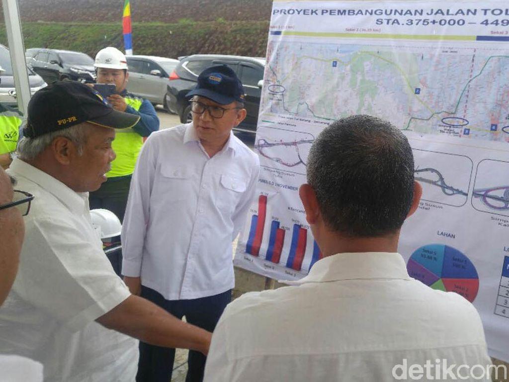 Menteri PUPR Yakin Tol Batang-Semarang Selesai 2018