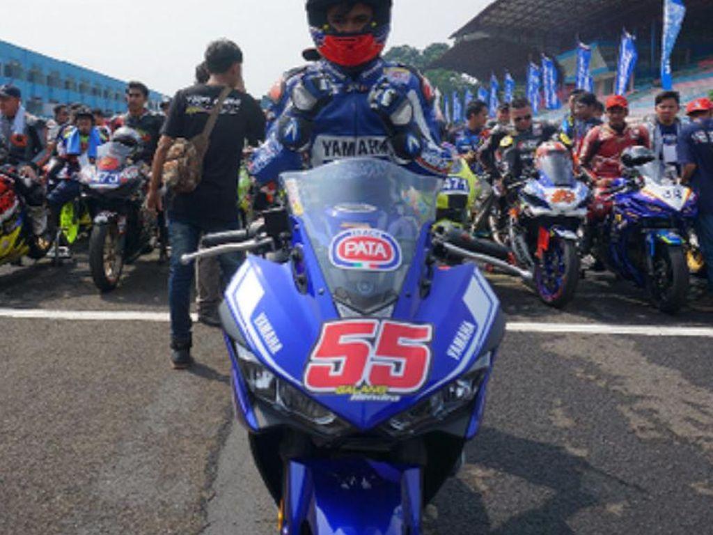 Galang Hendra Pimpin Victory Lap di Yamaha Sunday Race Seri 4