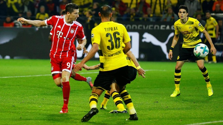 Tekuk Dortmund 3-1, Bayern Kokoh di Puncak Klasemen
