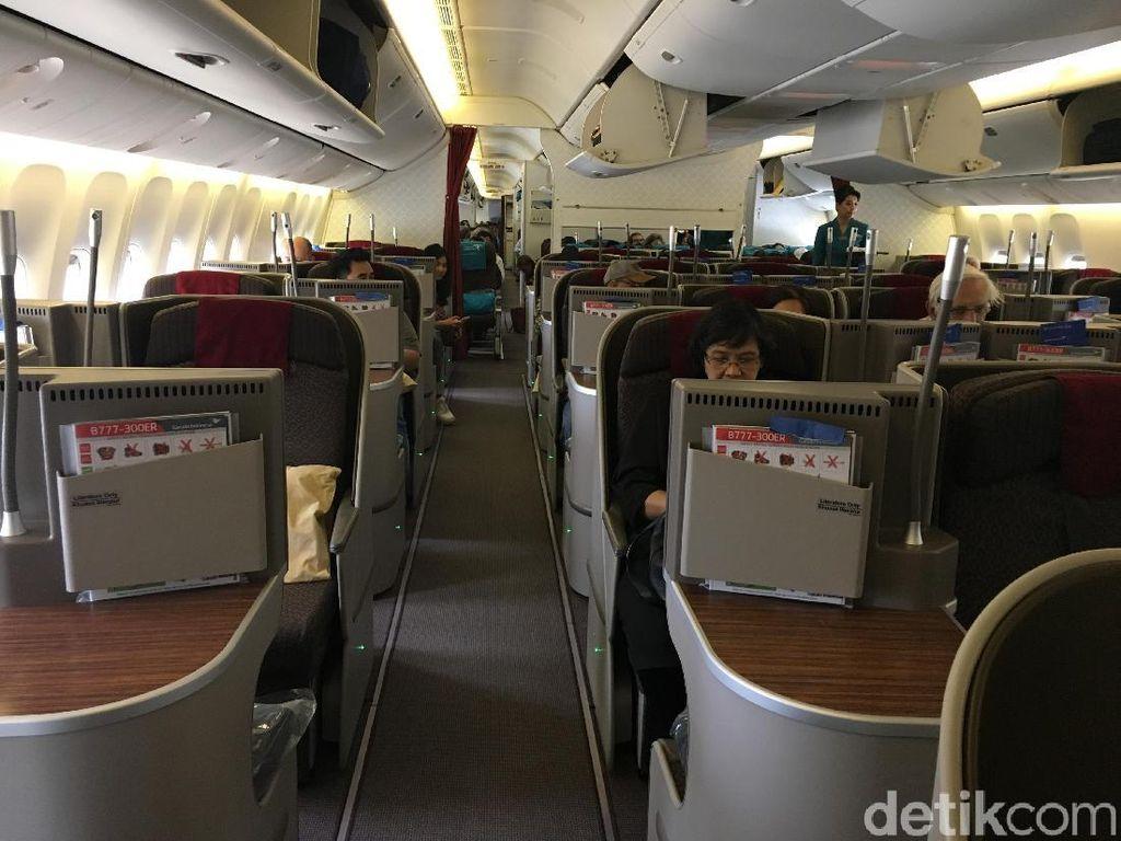 Asyik! Jajal Langsung Penerbangan Jakarta-London dengan Garuda