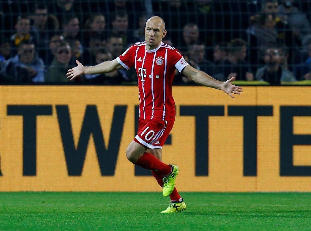 Robben Baru Bisa Main Awal Tahun