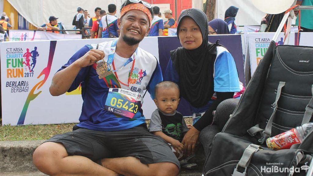 Olahraga Bareng Keluarga Itu Menyenangkan Banget Ya