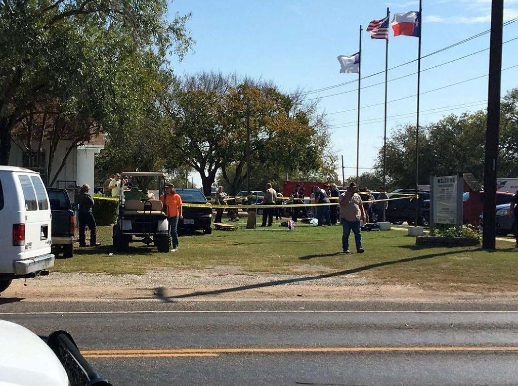 3 Tewas Dalam Penembakan di Texas AS, Pelaku Diduga Eks Polisi