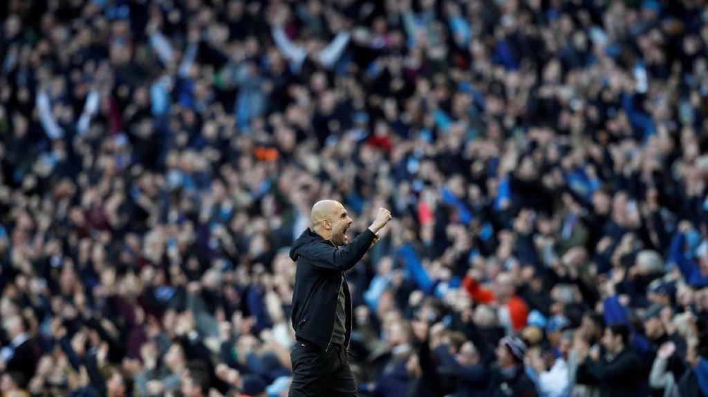 'Guardiola akan Antar City Sesukses Barcelona'