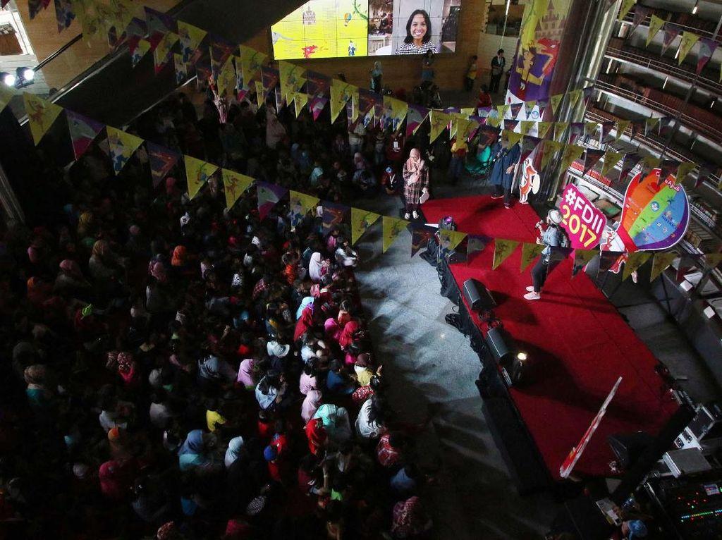 Serunya Festival Dongeng Internasional Indonesia